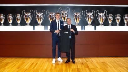 Andriy Lunin fue presentado oficialmente en el Real Madrid