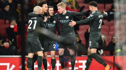 Premier League: Manchester City vuelve a golear al Arsenal