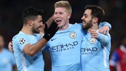 Champions League: Manchester City golea en Suiza y tiene pie y medio en la siguiente fase