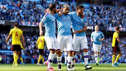 Manchester City apabulló 8-0 al Watford: sobre los 18 minutos ya goleaba 5-0 (VIDEO)