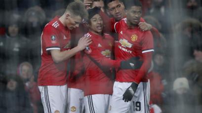 Manchester United avanzó a la semifinal de la FA Cup