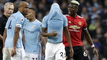 Manchester United dio vuelta al partido y evitó el título del City