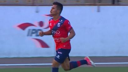 Ricardo Lagos tras marcar el gol del triunfo de Mannucci: