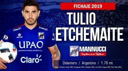 Carlos A. Mannucci: Tulio Etchemaite deja FBC Melgar y jugará en Trujillo