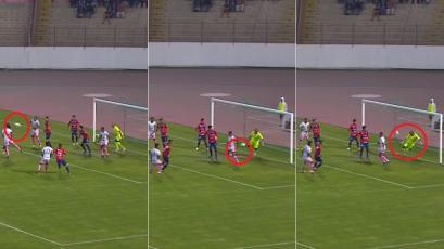 Manuel Heredia y su increíble atajada a pura reacción que evitó el gol de Sport Boys (VIDEO)