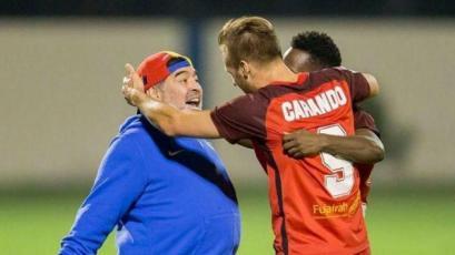 Danilo Carando saludó a Maradona por su cumpleaños con una emotiva experiencia (VIDEO)