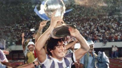 Se cumplen 41 años del primer título mundial de Diego Armando Maradona