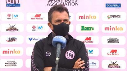 Marcelo Vivas lamentó la derrota de Sport Boys: