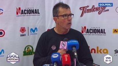Marcelo Vivas tras el triunfo de Sport Boys:
