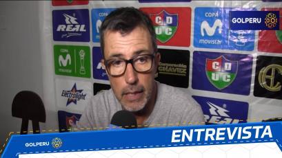 """Marcelo Vivas: """"Tenemos que traer un buen resultado ante Melgar"""""""