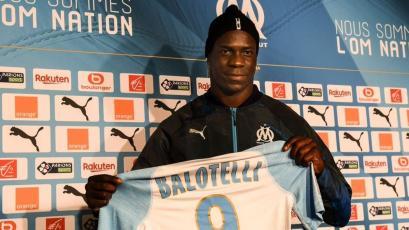 Mario Balotelli es nuevo jugador del Olympique de Marsella