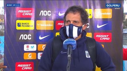 Mario Salas tras la derrota de Alianza Lima con UTC: