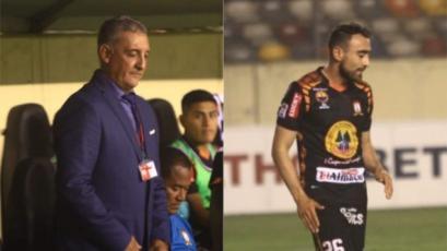 El gesto del técnico de Ayacucho FC con su jugador tras el autogol ante Universitario (VIDEO)