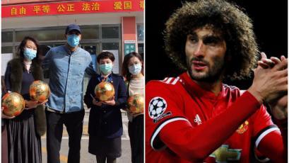 China: Marouane Fellaini fue dado de alta luego de tres semanas en el hospital por coronavirus