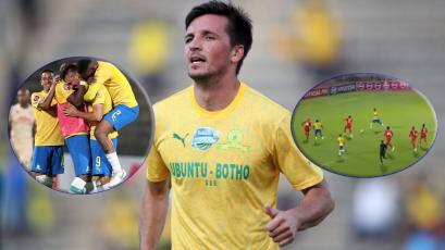 Alianza Lima: Mauricio Affonso marcó su primer golazo en la Primera División de Sudáfrica (VIDEO)