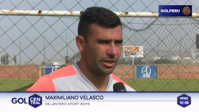 Maxi Velasco: