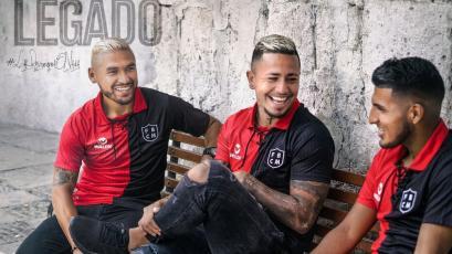 Melgar de Arequipa presentó la hermosa camiseta que utilizará en la Liga1 Movistar 2020 (FOTOS)