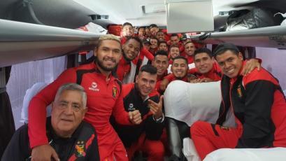 Melgar viajó en bus desde Arequipa a Cusco para enfrentar esta tarde a Cusco FC