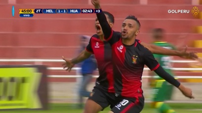 Melgar remotó y venció por 2-1 a Sport Huancayo