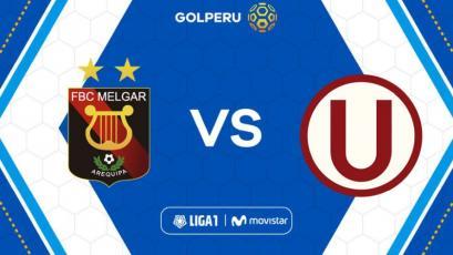 Liga1 Movistar: Melgar enfrenta a Universitario en la UNSA de Arequipa por la fecha 5