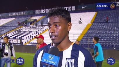 """Miguel Araujo: """"Necesitábamos ganar de local"""""""