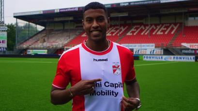 Miguel Araujo debutó con el FC Emmen en partido amistoso ante equipo de Alemania