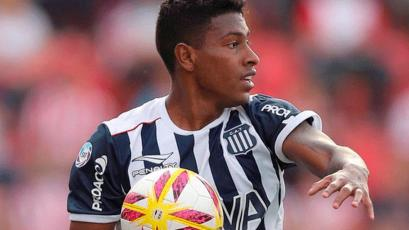 Miguel Araujo vio acción en el empate de Talleres con Independiente