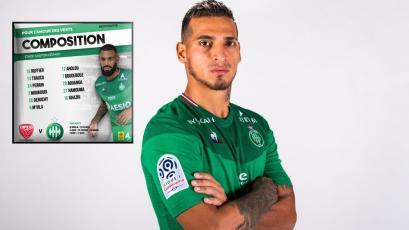 Saint-Étienne: Miguel Trauco arrancará como titular en la primera fecha de la Ligue 1 de Francia