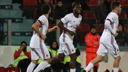 Serie A: Milan obtuvo su segundo triunfo consecutivo