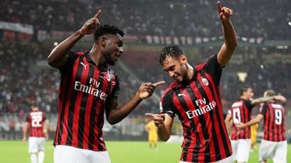 Serie A: Milan sorprende a la Roma en el último minuto