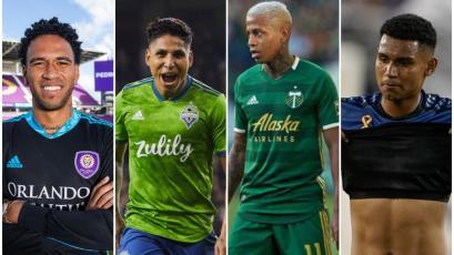 MLS: Pedro Gallese, Raúl Ruidíaz, Andy Polo y Marcos López juegan este miércoles