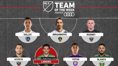MLS: Yoshimar Yotún, Rooney e Ibrahimovic en el once ideal de la fecha