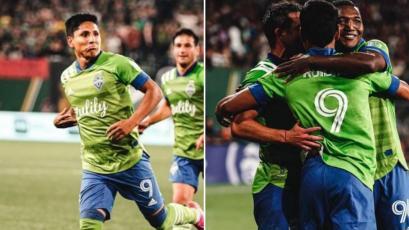 MLS: Raúl Ruidíaz anotó un doblete y es goleador del torneo (VIDEO)