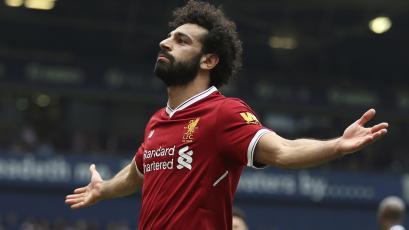 Mo Salah igualó récord goleador de Cristiano Ronaldo y Luis Suárez en la Premier League