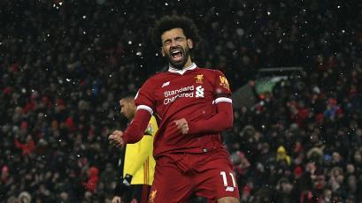 ¡Imparable! Salah superó a Kane, Messi y CR7 como goleador de la temporada