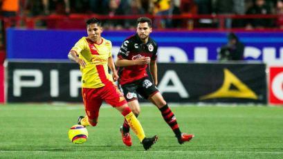 Morelia, con Ruidíaz y Sandoval rescató un empate de Tijuana