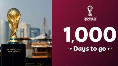Qatar 2022: FIFA reveló cómo van los trabajos a 1000 días del Mundial (VIDEO)