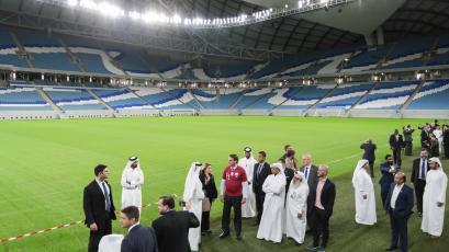 Coronavirus: Qatar confirmó ocho casos entre los trabajadores de los estadios del Mundial 2022