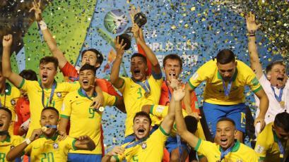 Mundial Sub-17: Brasil es el nuevo campeón tras remontar a México en la final