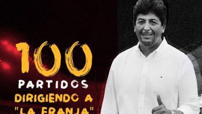 Deportivo Municipal: Víctor Rivera cumplió 100 partidos dirigiendo a la 'Franja'