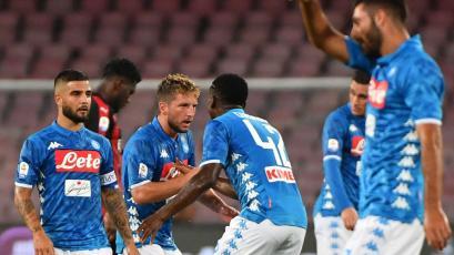 Nápoli consigue la remontada ante AC Milán (3-2)