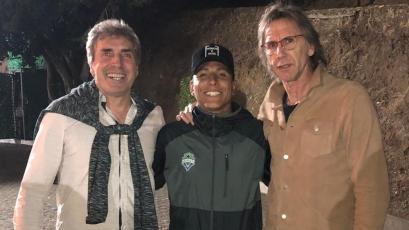 Selección Peruana: ¿por qué Ricardo Gareca visitó a Raúl Ruidíaz en México? (VIDEO)