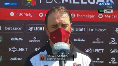 "Néstor Lorenzo: ""Nos convirtieron con pocas llegadas, pero son situaciones aisladas"" (VIDEO)"