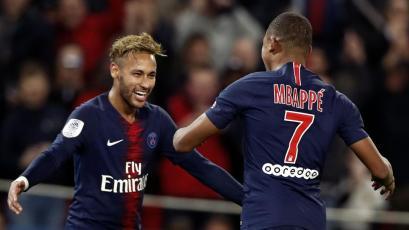Neymar y Mbappé le dan un nuevo récord al PSG