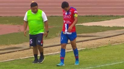 Carlos Mannucci vs. Cantolao: Osnar Noronha se lesionó y se prenden las alarmas en Trujillo (VIDEO)