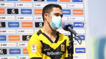 """Orlando Núñez: """"Ha sido mi primer gol en Primera División y estoy muy feliz por esto"""" (VIDEO)"""