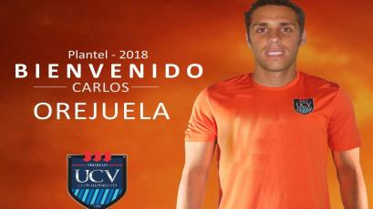 Carlos Orejuela es nuevo jugador de César Vallejo