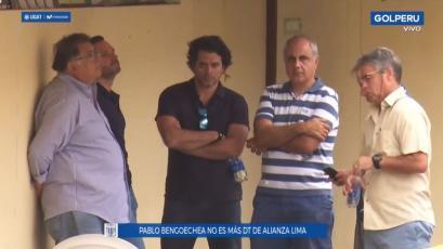 Alianza Lima: Pablo Bengoechea pidió su renuncia y no seguiría como entrenador (VIDEO)