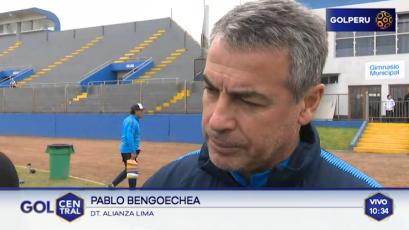 Pablo Bengoechea confirma que Velarde y Posito son dudas para el domingo
