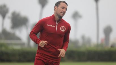 Universitario de Deportes: Pablo Lavandeira ya entrena con miras al duelo ante UTC